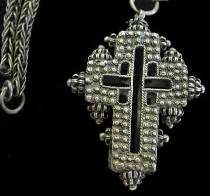 Una cruz bisantina ? ReliquaryCross